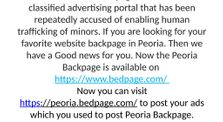 Backpage Peoria by bedpageclassified