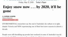 Past Climate Change Prediction Fails by Awaken Now